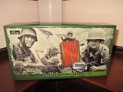W Britain WWII British Paratroopers - Assault Set Action Figure Set