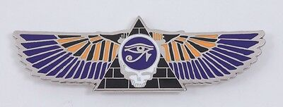 Grateful Dead Steal Your Face Egyptian Pyramid Wings Eye of Horus Purple Orange