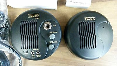 Telex Communications Window Intercom TX-ICW-6 with Gooseneck Microphone