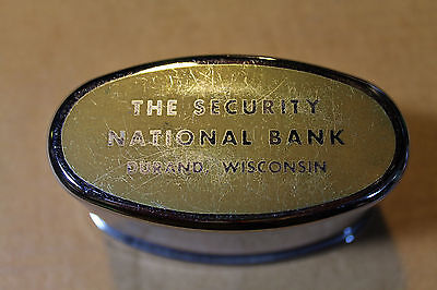 BANTHRICO Co. Promotional THE SECURITY NATIONAL BANK of DURAND, Wisconsin Coin