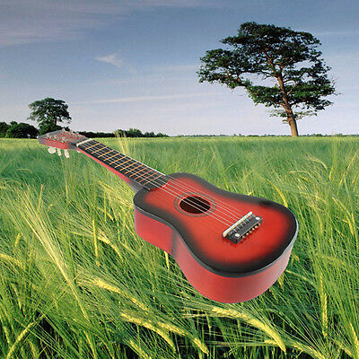 New 21 inch 6 String Ukulele Guitar Beginners Practice Musical Instrument Toys