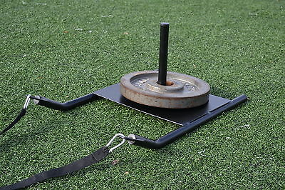 Speed Sled w/ Harness Weight Resistance PowerTraining Football Soccer Drag