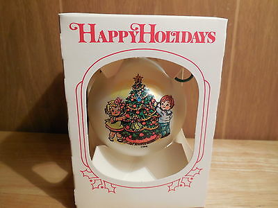 1986 Campbell Soup Christmas Ball Ornament with Box
