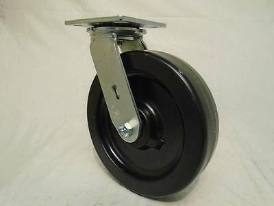 "8"" x 2"" Swivel Caster Heavy Duty w/ Phenolic Wheel 1400lb each Tool Box"