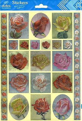 Dufex Foil Stickers - Roses