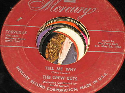 the crew-cuts 2 record lot deal that's my desire,rebel in town,tell me why,baby
