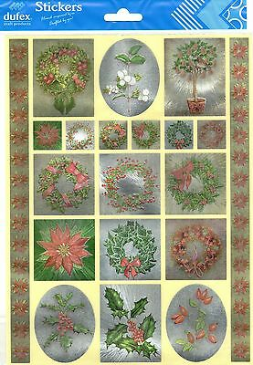 Dufex Foil Stickers - Traditional Floral