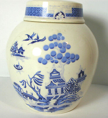 """Bristol Pottery R.Twining & Co Ltd Lidded Jar Excellent Condition 5"""""""