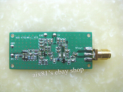 433MHz VCO RF Signal Source Voltage Controlled Oscillator Signal Generator 5V