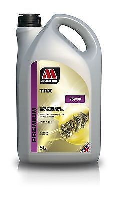 Millers Oils TRX 75w90 Semi Synthetic Transmission Oil - 5 Litre