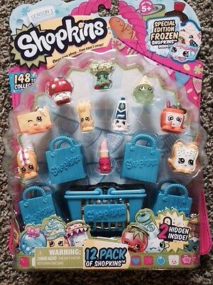 SHOPKINS Season 1-12 Pack Special Edition Frozen w/ 3 RARE-1 SPECIAL EDITION(#9)