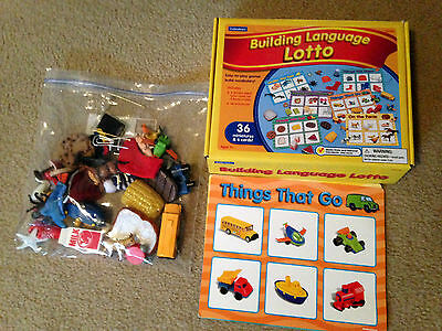 LAKESHORE LEARNING Building Language 3-D Lotto