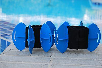 Aqualogix Max Resistance Blades Therapy workout Exercise Water FITNESS Rehab NEW