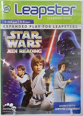 NEW LeapFrog Leapster2 Star Wars Jedi Reading Learning Game Phonics Spelling