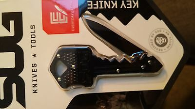 Sog Key Knife Black Brand New in Package!  KEY-101 FREE SHIPPING!