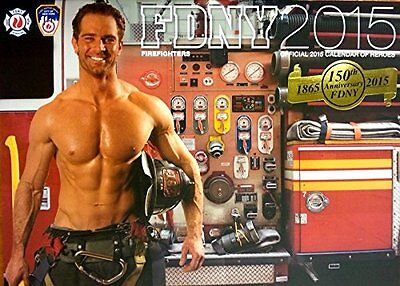 Official 2015 FDNY Firefighter Calendar of Heroes