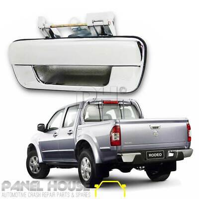 Holden Rodeo RA Ute 03 04 05 06 Chrome Tail Gate Handle With Out Lock Hole NEW