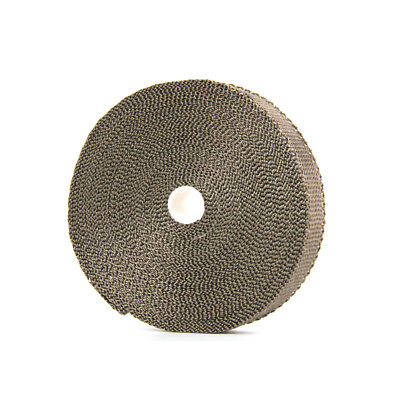 TITANIUM HEADER EXHAUST TURBO INTAKE MANIFOLD HEAT WRAP 25mm.×1.6mm×15m
