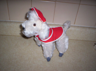 VINTAGE STUFFED DOG BY GUNDERFUL CREATION JAPAN
