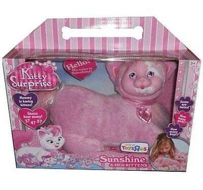NEW Kitty Surprise Exclusive SUNSHINE Plush Kittens Just Play PINK