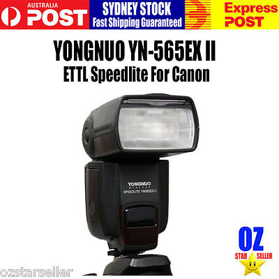 New Released!  YONGNUO YN-565EX II ETTL Flash Speedlite For Canon