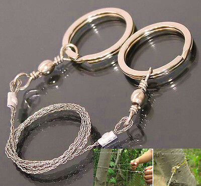 Emergency Survival Gear Steel Wire Saw Camping Hiking Hunting Climbing Gear C