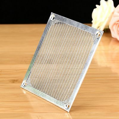 PC Fan Dust Filter Case Cover Dustproof Aluminum Grill Guard Protector 120mm