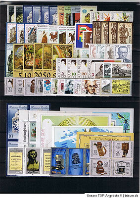 DDR GDR Germany 1989 complete MNH year set FREE SHIPPING WORLDWIDE yearset LOOK!