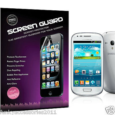 Samsung Galaxy S3 Mini I8190 High Quality Crystal Clear LCD Screen Protector