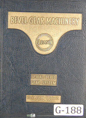 Gleason  Beveled Gear System Tooth Proportion, 10-30 per pinion, Manual 1935