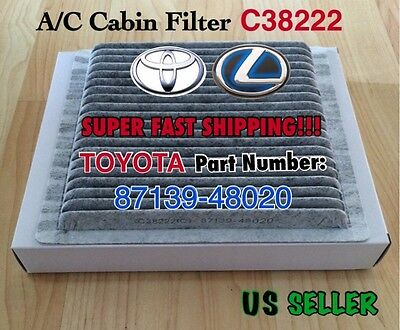 CARBONIZED CABIN FILTER For TOYOTA 01-07 Highlander LEXUS 01-05 IS300  RX300