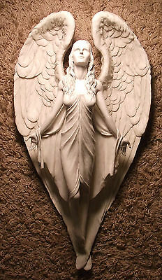 Resin Angel Wall Hanging Ascention To Heaven 16 Inch Excellent Guaranteed