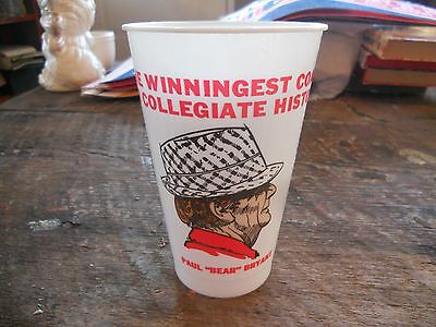 ** Rare Vintage New Old Stock Paul Bear Bryant 315 Wins Alabama Football Cup **
