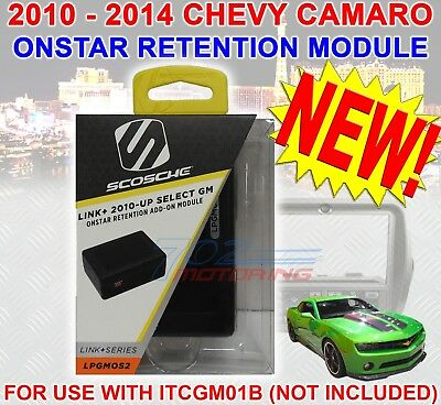 Onstar Module >Only< For The Scosche® Gm5201Ab For 2010-2014 Chevrolet Camaro