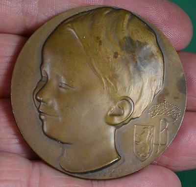 BRONZE MEDAL MEDALLION PARIS EXHIBITION 1937            (C26)