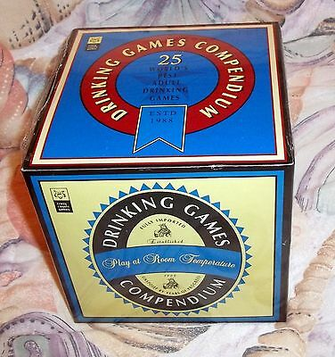 Crazy Coyote Games Drinking Games Compendium 25 Best Adult Drinking Games NEW