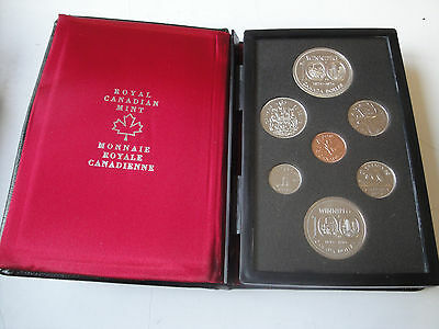 1974 CANADA DOUBLE DOLLAR  SET OF SEVEN COINS
