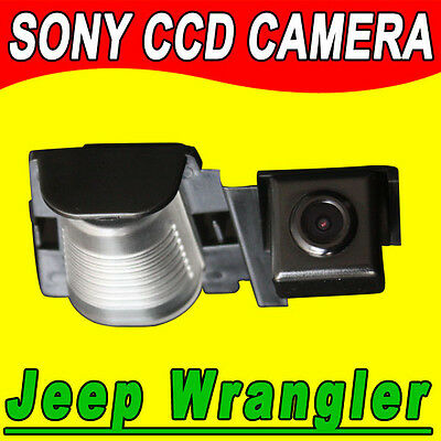 Sony CCD Jeep Wrangler auto radio gps car reverse rear view camera backup Kamera