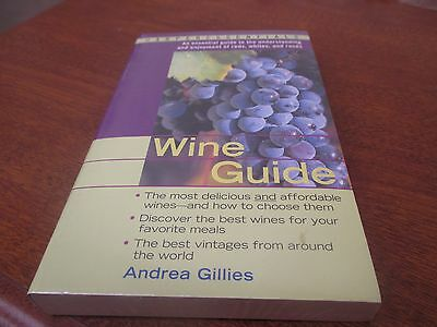 Harper Essentials - Wine Guide by Andrea Gillies - New/ Sealed