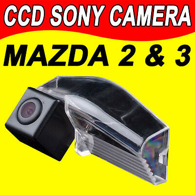 Sony CCD Mazda2/mazda3/mazda 2 3 auto radio car reverse rear view backup camera