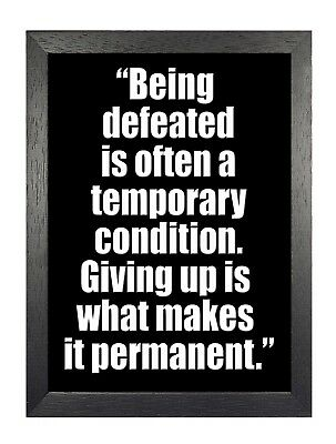 Motivational 304 Inspirational Gym Work Out Bodybuilding Quote Poster Photo