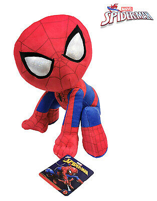Spiderman 30cm Supersoft Muñeco Peluche Original Pelicula Comic Marvel Heroes