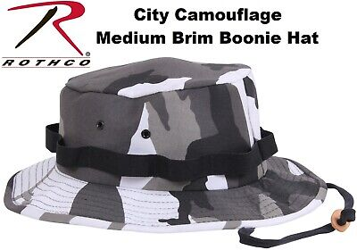 KIDS CITY CAMO Military Style Boonie Bucket Camping Hunting Jungle Hat 5550