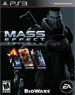 MASS EFFECT TRILOGY (Playstation 3) PS3 *NEW FACTORY SEALED*