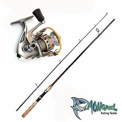 New Rod & Reel Combo, Daiwa Crossfire Rod And Gwma-1000 Reel 180Cm