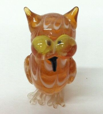 Fitz and Floyd Glass Menagerie OWL In Original Box 43/143