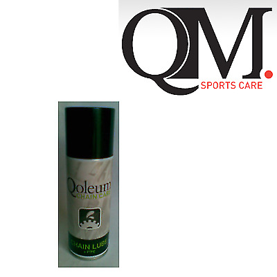 Qoleum QM Sports Bicycle Chain Lube Lubricant with PFTE 200ml Spray Can