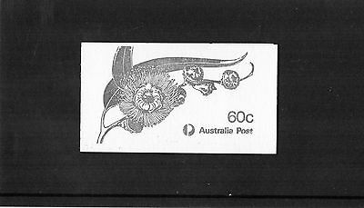 1982 Eucalyptus 60c Booklet Complete CTO Fine Used
