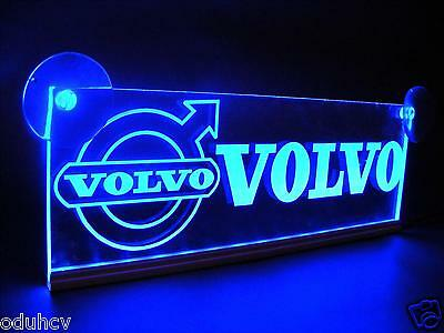 24V LED Cabin Interior Light Plate for Volvo Truck Laser Engraved Table Sign