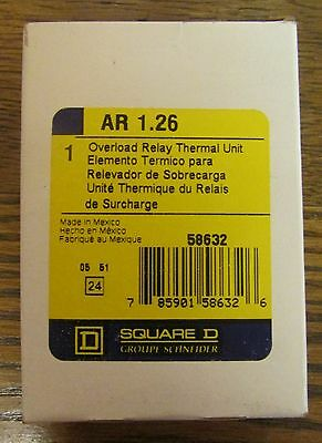 SQUARE D AR 1 53 Thermal Overload Relay Heater Element AR 1.53